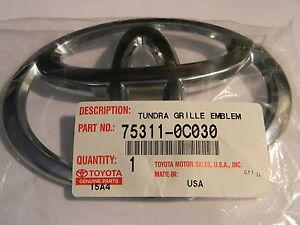 Toyota Front Grille Emblem Ebay