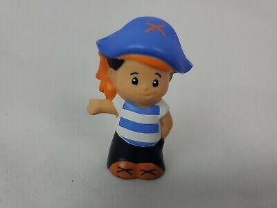 Fisher Price Little People HALLOWEEN TRICK or TREAT BOY PIRATE Figurine