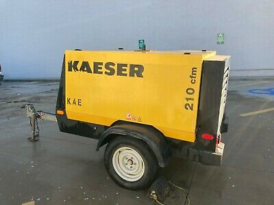 Kaeser M57 Towable Constant Air 210 Cfm Compressor
