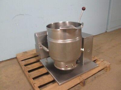 Groen Tdh 20 Commercial Hd Natural Gas 20qt. Counter Top Tilting Steam Kettle