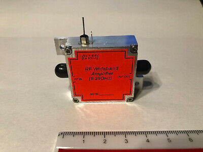 Rf Wideband Amplifier 6.0 - 28ghz High Gain.