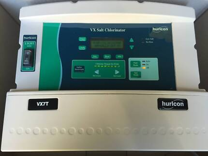 SALT CHLORINATOR HURLCON VX7T IMMAC AS NEW W. BRAND NEW CELL $599