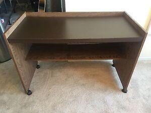 Desk on Wheels - $10