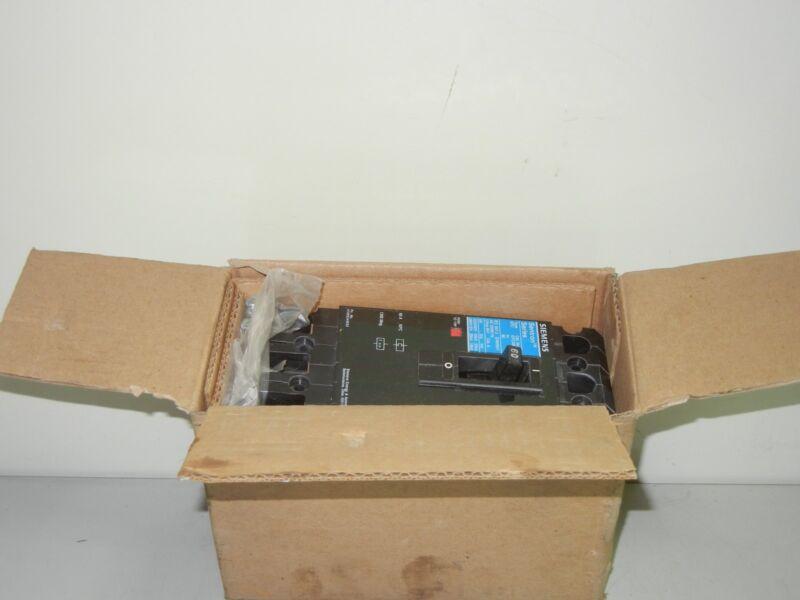 SIEMENS EFC3M060 NEW 60A SENTRON SERIES CIRCUIT BREAKER EFC3M060