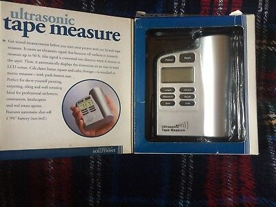 Ultrasonic Tape Measure In Box Perfect Solutions Ps2777ti