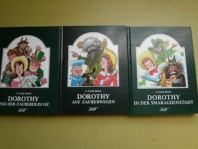 3 x Dorothy - L. Frank Baum, ... u. Zauberer von Oz, ... in der Smaragdenstadt