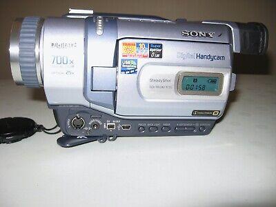 Sony DCR-TRV240 Camcorder Digital8/Hi8/8mm - USED playback/record intermittent