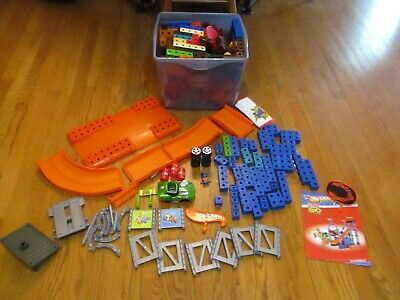 Huge Lot Fisher Price Trio Building Blocks Vehicles Cars 15 lbs+