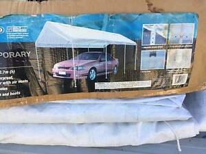 6 X 3M STEEL FRAME AND CAR COVER Springfield Ipswich City Preview