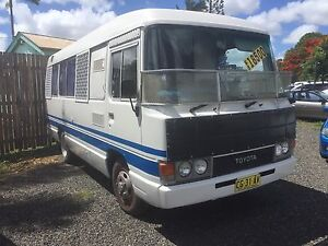 Toyota coaster motor home with all the gear !!! Bundaberg North Bundaberg City Preview