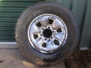 Toyota Hilux wheel with tyre Mareeba Tablelands Preview