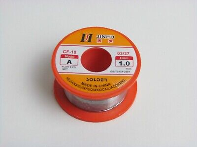 Lead Free Solder Wire Flux With Rosin Core 45ft.for Electronic 100g3.5oz. 1mm