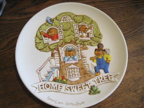The Berenstain Bears HOME SWEET TREE Collector Plate By Ebeling&Reuss Company