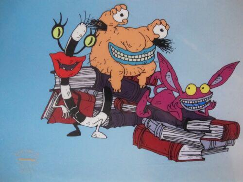 Nickelodeon REAL MONSTERS Animation Art Sericel Cel RARE!