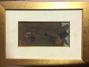 Archibald Winner: John Olsen Gouache Painting 1969 Vintage Piece Parkdale Kingston Area Preview