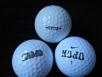 "20  NIKE ""MOJO"" - MIXED MODELS -  Golf Balls  - ""PEARL/A""  Grades."