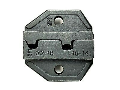Ratchet Crimp Tool Die HT-2F1 Non-insulated Flag Terminal DIN 0.5-1.0/1.5-2.5mm2