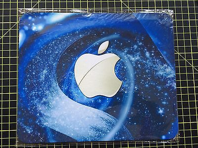 BLUE APPLE effect print MOUSEMAT MOUSE MAT PAD compatible with Mac iMac MacBook