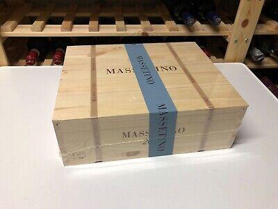 2017 MASSETINO dell' ORNELLAIA - 3 x 75 CL in CASSA LEGNO - SPEDIZIONE GRATUITA