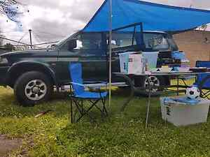 2000 Mitsubishi 4x4 Backpacker Camper -Full Equipped with Wa Rego Bedford Bayswater Area Preview