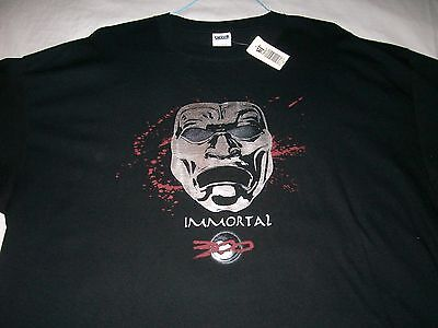 300 the IMMORTALS movie black T-SHIRT NWT Adult: XXXLg Men's - 300 Immortals