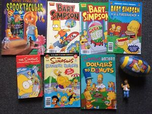 Simpson's Comics and Toys