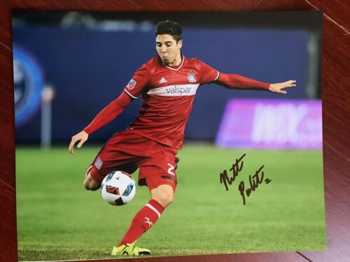 Chicago Fire Matt Polster Autographed Signed 11x14 Photo COA #1
