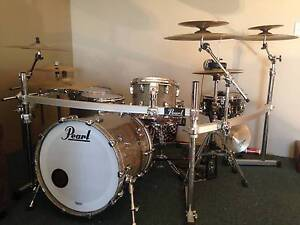 Pearl Reference Series Drums - Zildjian Cymbals - Hardware/Cases Cottesloe Cottesloe Area Preview