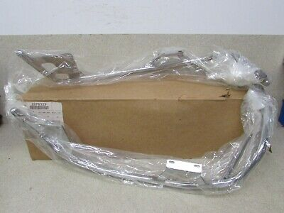 NOS VICTORY CROSS ROADS CROSS COUNTRY REAR CHROME HIGHWAY SOFT BAG KIT RAILS