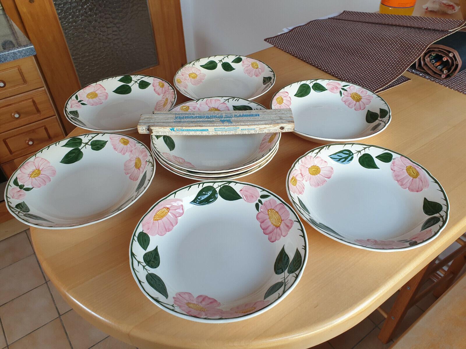 Villeroy & Boch Wildrose Suppenteller Servierteller 20,5 x 4 cm