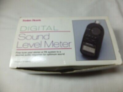 Radio Shack Digital Sound Level Spl Meter With Case 33-2055 Tested Working