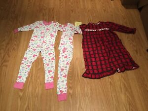 """Nightgown and """"long johns"""" Size 4"""