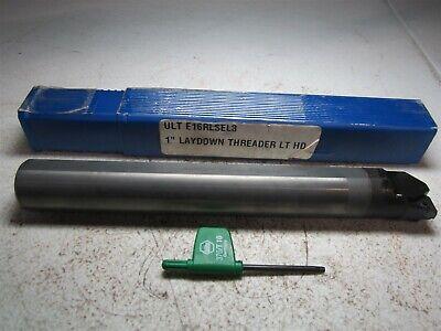 Ultra-dex E16rlsel3 1 Shank 1.210 Min Bore Diam Lh Carbide Threadgroove Bar