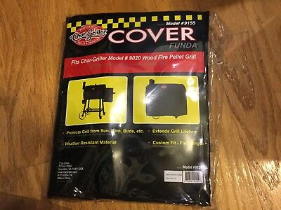 *NEW* Char-Griller Pellet Grill Cover Weather-resistant Practical Cover Design