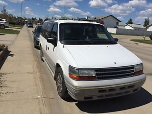 1995 Plymouth grand voyager (transmission f***ed)