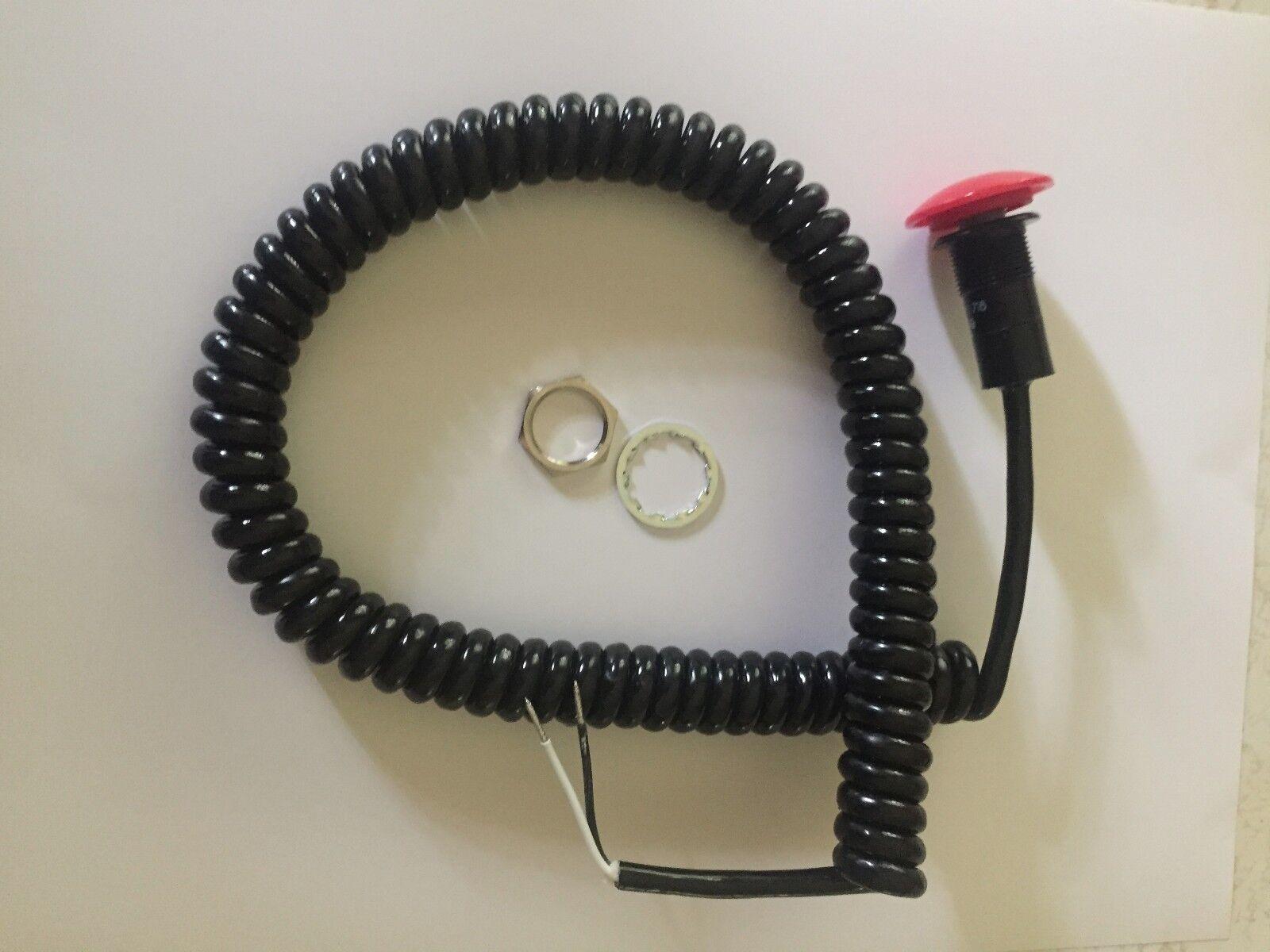 DEEZ Performance Transmission Brake Button w/cord