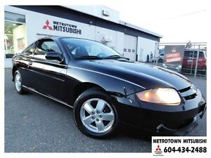 2005 Chevrolet Cavalier Local BC vehicle! LOW KMS!