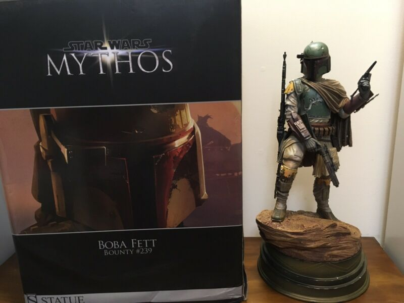Sideshow Star Wars Boba Fett Mythos Statue. Please Read Description