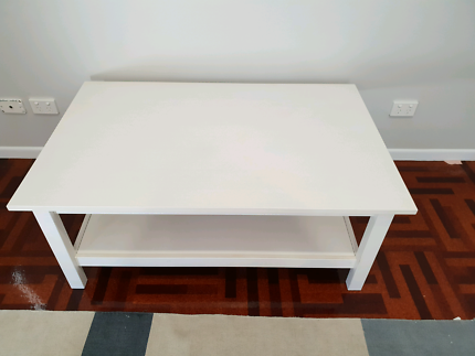 White Solid Pine Coffee Table