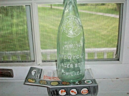 Antique Beer Bottle McAvoy Brewing Co.Chicago