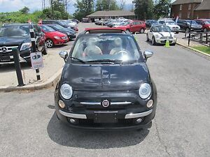 2012 Fiat 500 LOUNGE CLEAN CAR PROOF CONVERTIBLE BLUE-TOOTH BOSE
