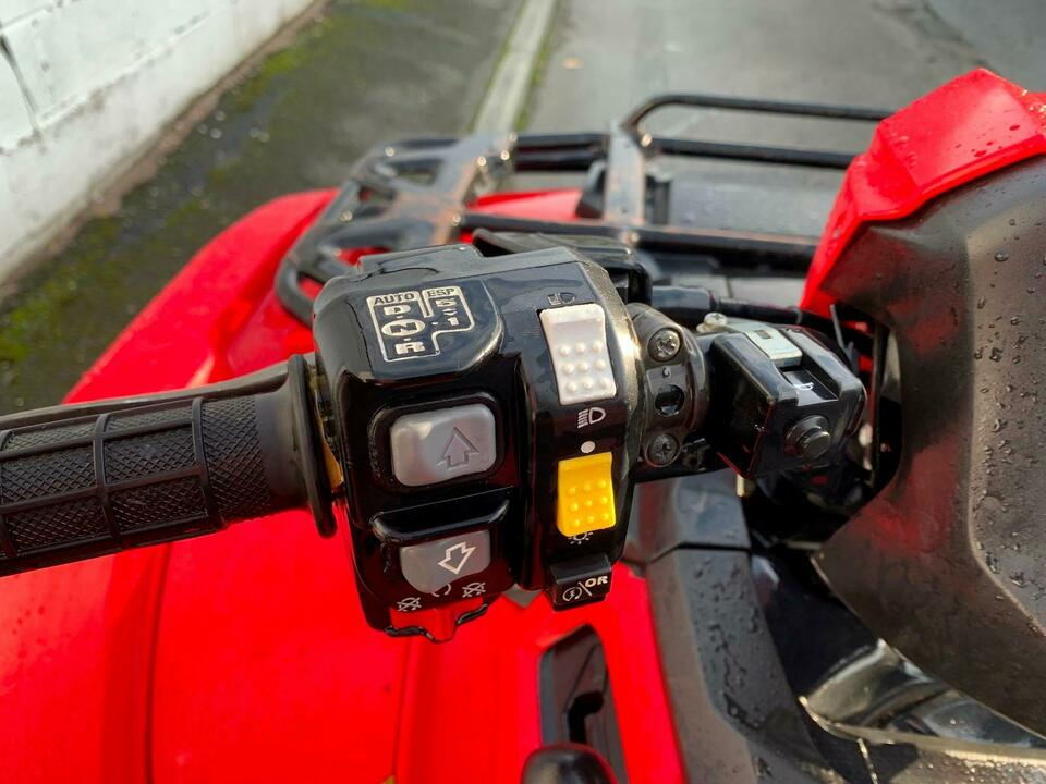 2015 HONDA TRX500FA5 AUTO-DCT FOREMAN DCT 10 SPEED LOW BOX 4x2x4 QUAD BIKE ATV