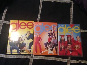 Glee seasons 1,2,3