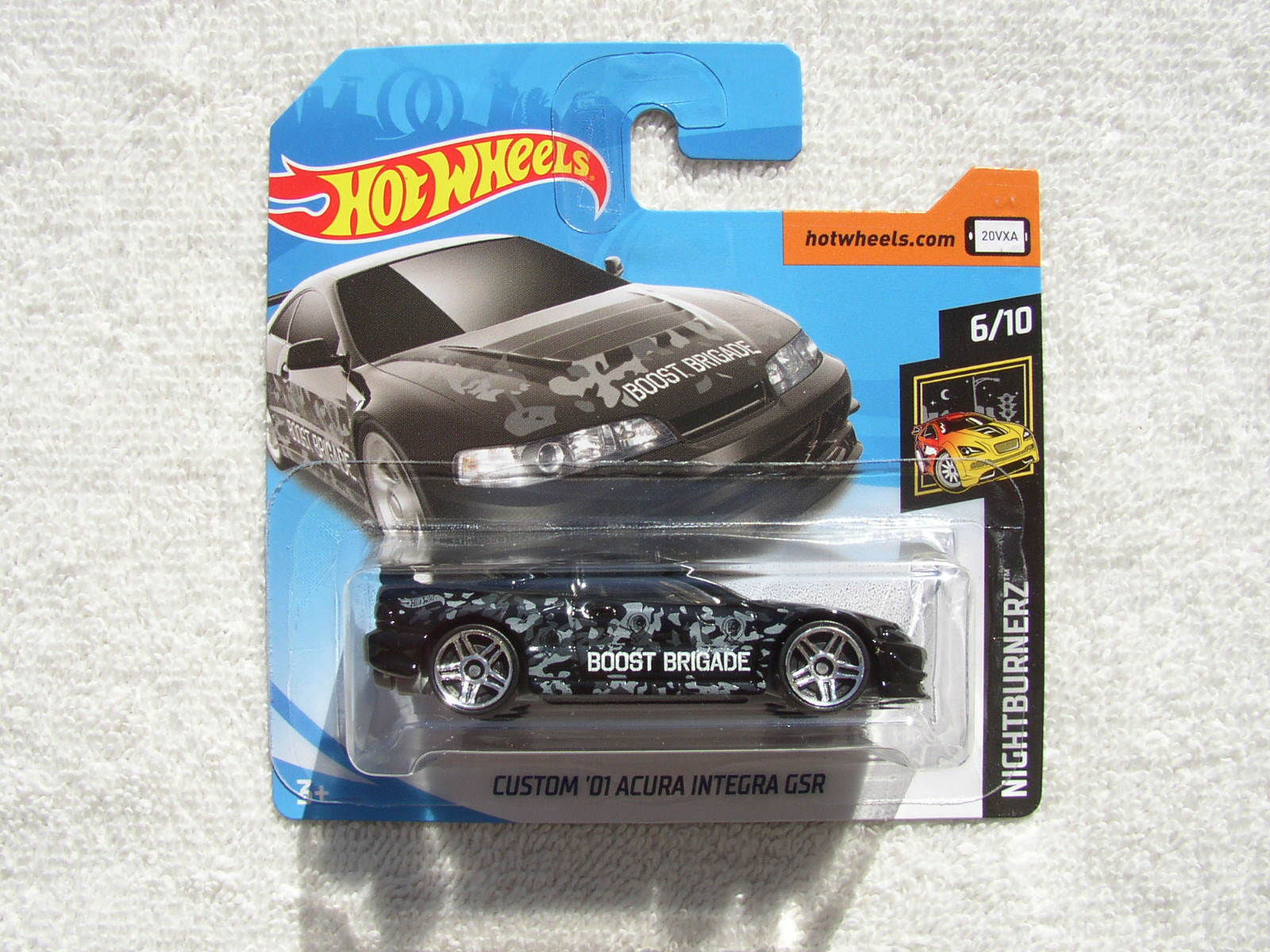 Personalizado 2001 Acura Integra Gsr Honda Nightburnerz Hot Wheels Como Nuevo Tarjeta De Largo Diecast Vehicles Contemporary Manufacture
