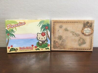 Hawaii Sticky Note Pads Hello Kitty Aloha Islands Notes New In Package Lot Of 2