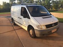 Mercedes vito van 2002 auto new tyres and with rego Gray Palmerston Area Preview