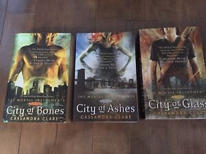 The Mortal Instruments trilogy by Cassandra Clare
