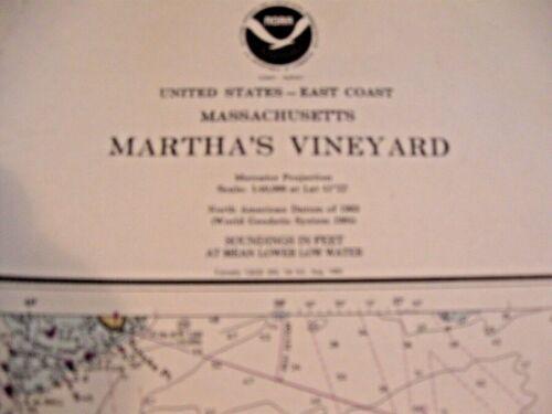 NAVIGATIONAL MAP - CHART # 13233 MARTHA