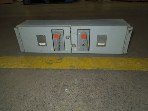 Fpe Qmqb1132r 100/100a 3p 240v Twin Fusible Switch Unit Used