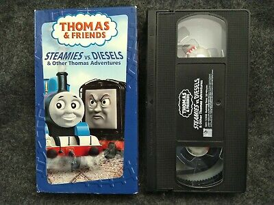 VHS Thomas the Tank Engine - Steamies vs. Diesels Other Thomas Adventures 2004
